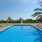 Ferienhaus Cala d Or MA5730 Poolterrasse mit Liegen