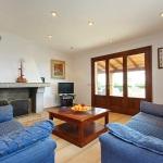Ferienhaus Cala d Or MA5730 Wohnbereich mit TV