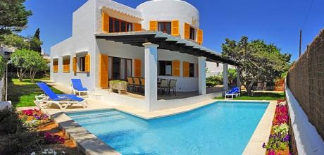 Mallorca Südostküste – Ferienhaus Cala D'Or 5655 mit Pool in Strandnähe (400m), Grundstück 530qm, Wohnfläche 180qm. An- und Abreisetag Samstag .