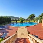 Ferienhaus Mallorca 5649 - Blick auf die Poolterrasse