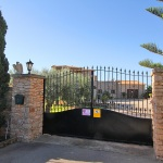 Ferienhaus Mallorca 5649 - Einfahrt mit Tor