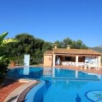 Ferienhaus Mallorca 5649 - Poolbereich mit Grillhaus