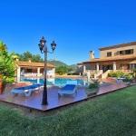 Ferienhaus Mallorca 5649 - Rasen um den Pool