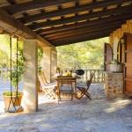 Ferienhaus Mallorca 5731 - überdachte Terrasse