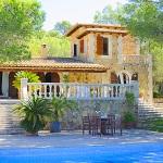 Ferienhaus Mallorca 5731 - Blick auf Pool und Haus