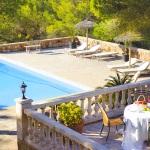 Ferienhaus Mallorca 5731 - Blick auf den Pool