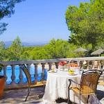 Ferienhaus Mallorca 5731 - Blick vom Balkon auf den Pool