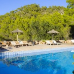 Ferienhaus Mallorca 5731 - Gartenmöbel am Pool
