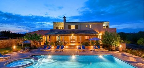 Mallorca Südostküste – Casa Sanau 5208 mit Pool und Whirlpool in Strandnähe. Wechseltag Samstag