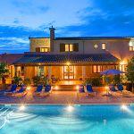 Ferienhaus Mallorca MA5208 - Abendstimmung am Pool