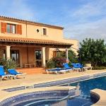 Ferienhaus Mallorca MA5208 - Poolterrasse mit Liegen