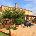 Ferienhaus Mallorca MA5208 - Terrasse mit Gartenmöbel