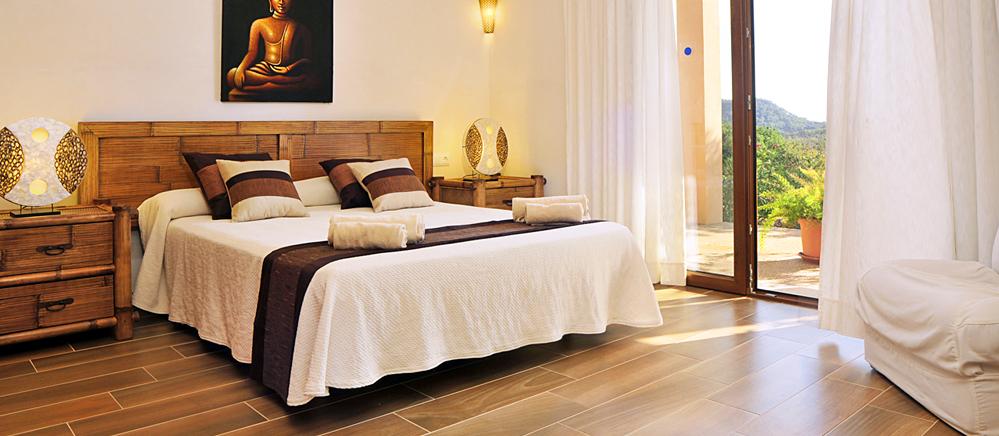 Barrierefreie Luxusfinca Mit Pool, Whirlpool Und Kinderpool. Luxusfinca  Mallorca MA5470 Schlafzimmer