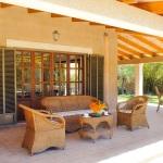 Ferienhaus Mallorca MA5645 Sitzecke auf der Terrasse