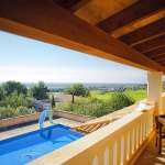 Ferienhaus Mallorca MA5646 Blick auf den Pool