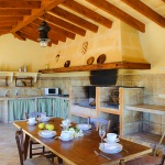 Ferienhaus Mallorca MA5646 Grillbereich mit Esstisch