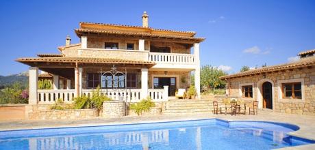 Mallorca Südostküste – Komfort Ferienhaus S'Horta 5646 mit Meerblick, Grundstück 15.000qm, Wohnfläche 350qm. vom 30.06. – 01.09. ist der Wechseltag Samstag, sonst flexibel, Mindestmietzeit 1 Woche.