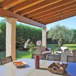 Ferienhaus Mallorca MA5650 überdachte Terrasse