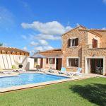 Ferienhaus Mallorca MA5650 Garten mit Olivenbaum