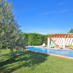 Ferienhaus Mallorca MA5650 Garten mit Pool und Poolhaus