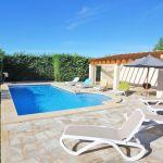 Ferienhaus Mallorca MA5650 Poolterrasse mit Liegen