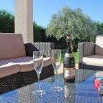 Ferienhaus Mallorca MA5650 Sitzecke auf der Terrasse