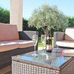 Ferienhaus Mallorca MA5650 Sitzgruppe auf der Terrasse