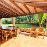 Ferienhaus Mallorca MA5670-überdachte Terrasse