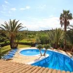 Ferienhaus Mallorca MA5670-Blick über den Pool