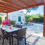 Ferienhaus Mallorca MA5940 Gartenmöbel