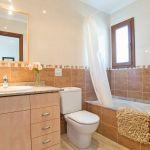 Ferienhaus Mallorca MA5950 Bad mit Wanne