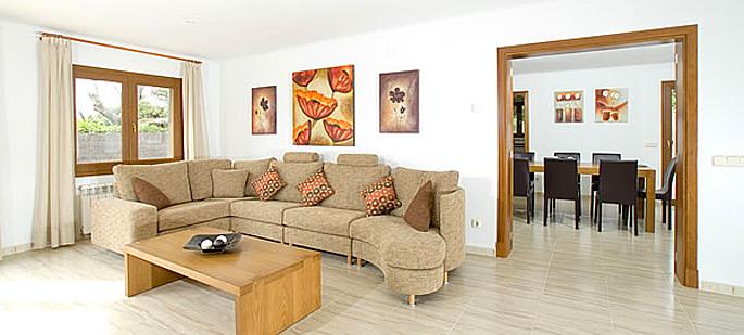 Villa Mallorca MA5950 - Wohnbereich