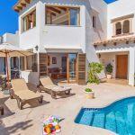 Ferienhaus Mallorca MA5950 Sonnenliegen am Pool
