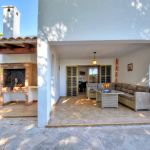 Ferienhaus Mallorca MA5950 Terrasse mit Grillecke