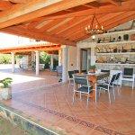 Ferienhaus Mallorca MA6007 überdachte Terrasse