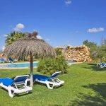 Ferienhaus Mallorca MA6007 Garten mit Liegen
