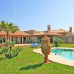 Ferienhaus Mallorca MA6007 Garten mit Pool