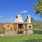 Ferienhaus Mallorca MA6007 Grillbereich im Garten