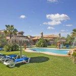 Ferienhaus Mallorca MA6007 Sonnenliegen im Garten