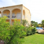 Ferienhaus Mallorca MA6315 - Garten mit Rasen und Pool