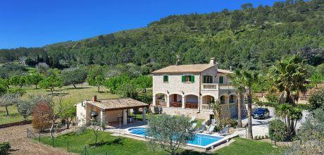 Mallorca Nordküste – Ferienhaus Alcudia 6316 mit Pool für 12 Personen mit schönem Ausblick, Strand 7,5 km, An- und Abreisetag Samstag.