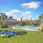 Ferienhaus Mallorca Sonnenliegen am Pool MA6007