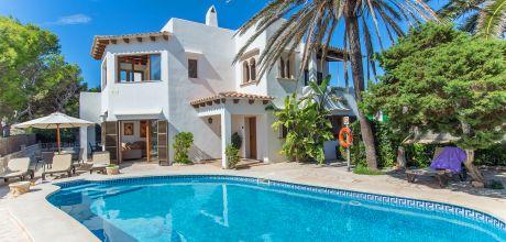 Mallorca Südostküste – Villa Cala D' Or 5950 mit Pool in Strandnähe (ca. 400m), Grundstück 700qm, Wohnfläche 200qm. An- und Abreisetag Samstag.