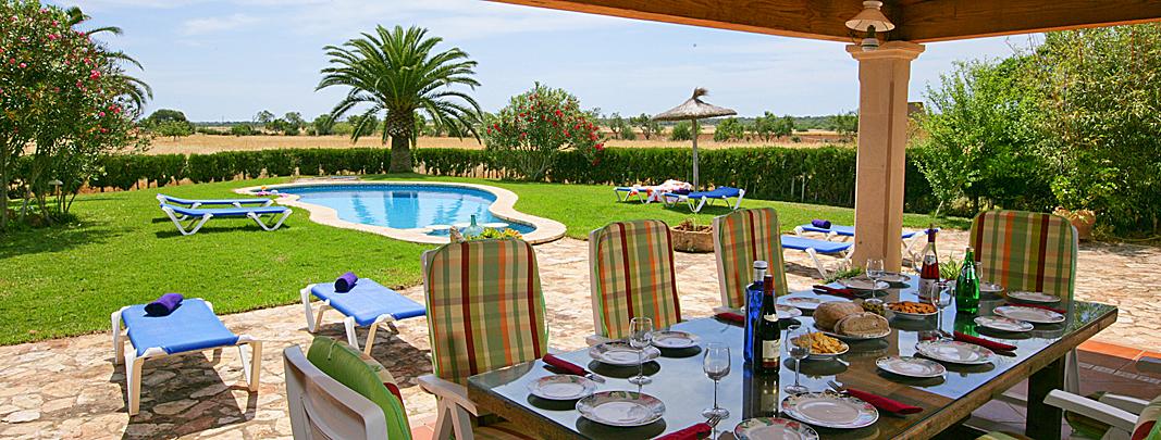 Ferienhaus MallorcaMA5206 Terrasse