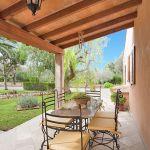 Ferienhaus Pollensa 5050 Terrasse mit Gartenmöbel