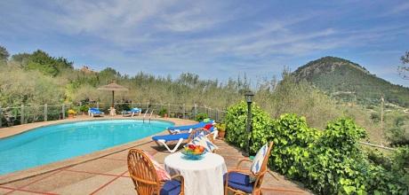 Mallorca Nordküste – Ferienhaus Pollensa 5380 mit Pool für 10 Personen mieten. 08.06. – 28.09.19: Wechseltag Samstag, Nebensaison flexibel.