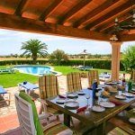 Finca Mallorca  MA5206 - überdachte Terrasse