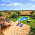 Finca Mallorca  MA5206 - Blick in den Garten