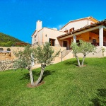 Finca Mallorca MA5675 Garten mit Olivenbäumen