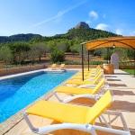 Finca Mallorca MA5675 Pool mit Gartenmöbel